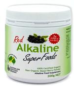 red alkaline super foods